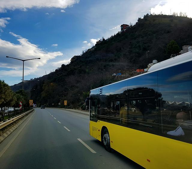 les transports en vacances