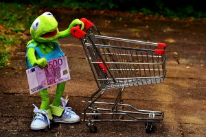 etre payé pour faire du shopping