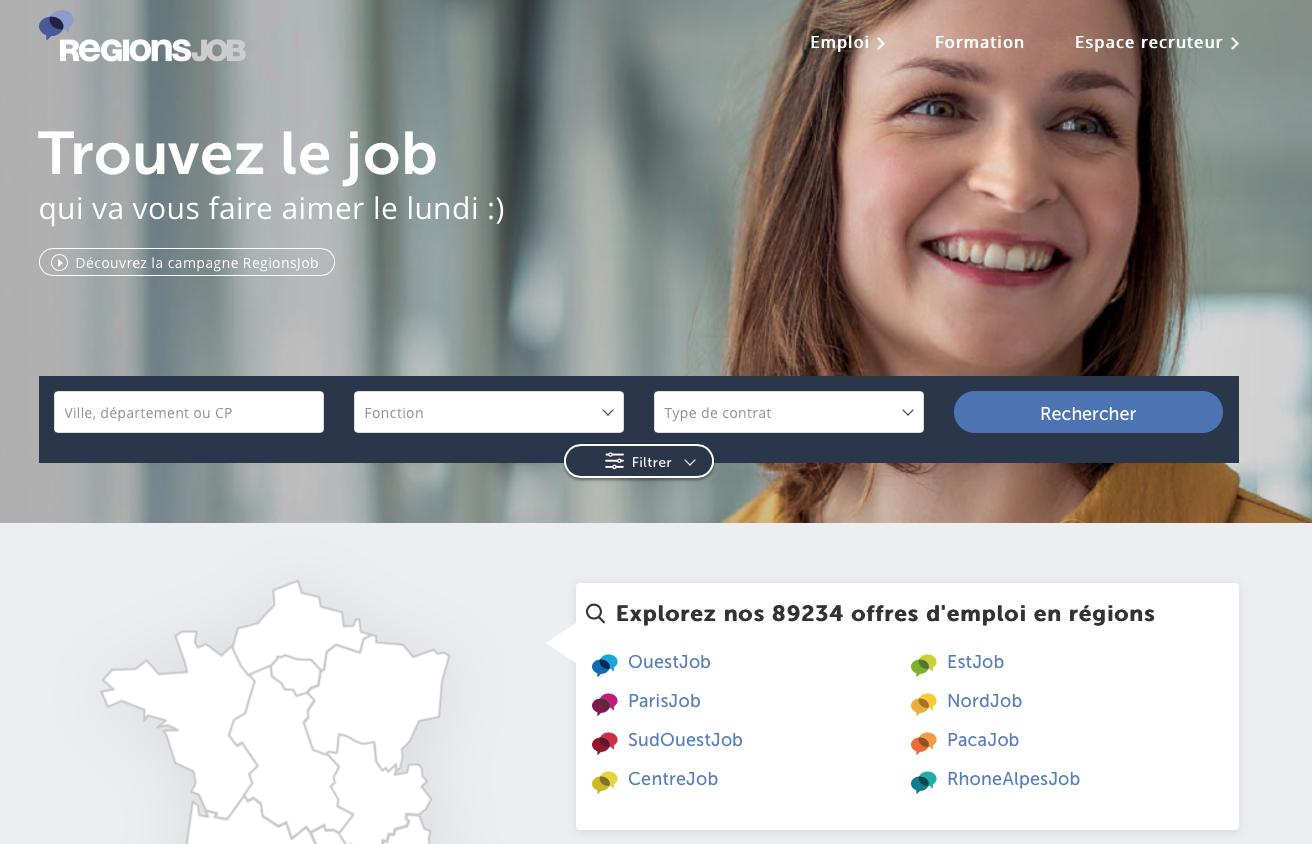 5 sites pour trouver un emploi ou un stage